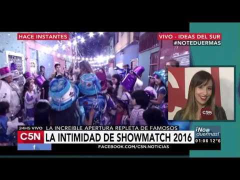 C5N - No te duermas: Entrevista a Lourdes Sánchez tras la apertura de Showmatch 2016