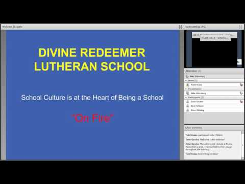 "Divine Redeemer Lutheran School - Hartland, WI: Culture behind ""school on fir"" March 22, 2016"