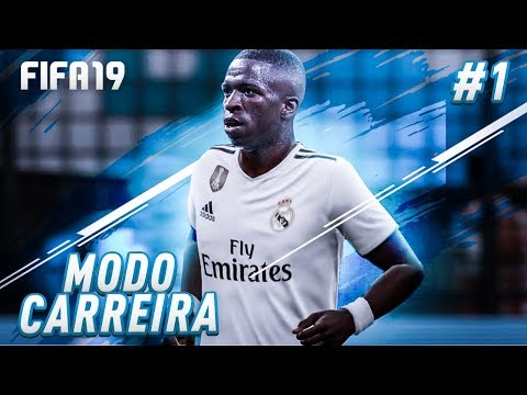 MODO CARREIRA VINICIUS JR!!! O INICIO - FIFA 19! thumbnail