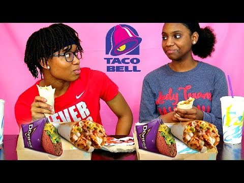 TACO BELL NEW $5 CRAVINGS DEAL! EATING SHOW!