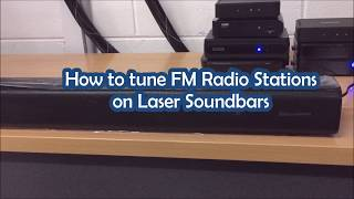 Laser Soundbars - How to Tune FM Radio Stations