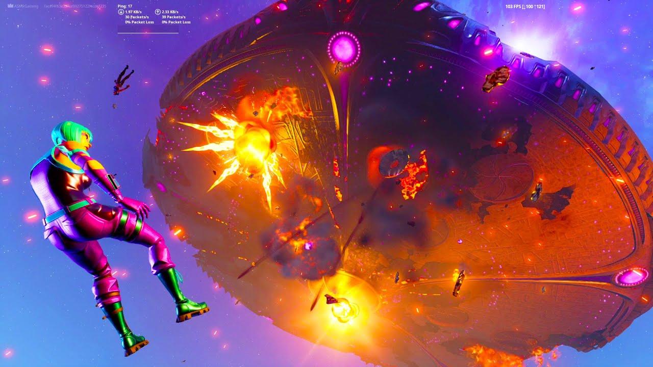 PlayTube Gaming: Fortnite Season 8 Operation Skyfire Live Event [No commentary]