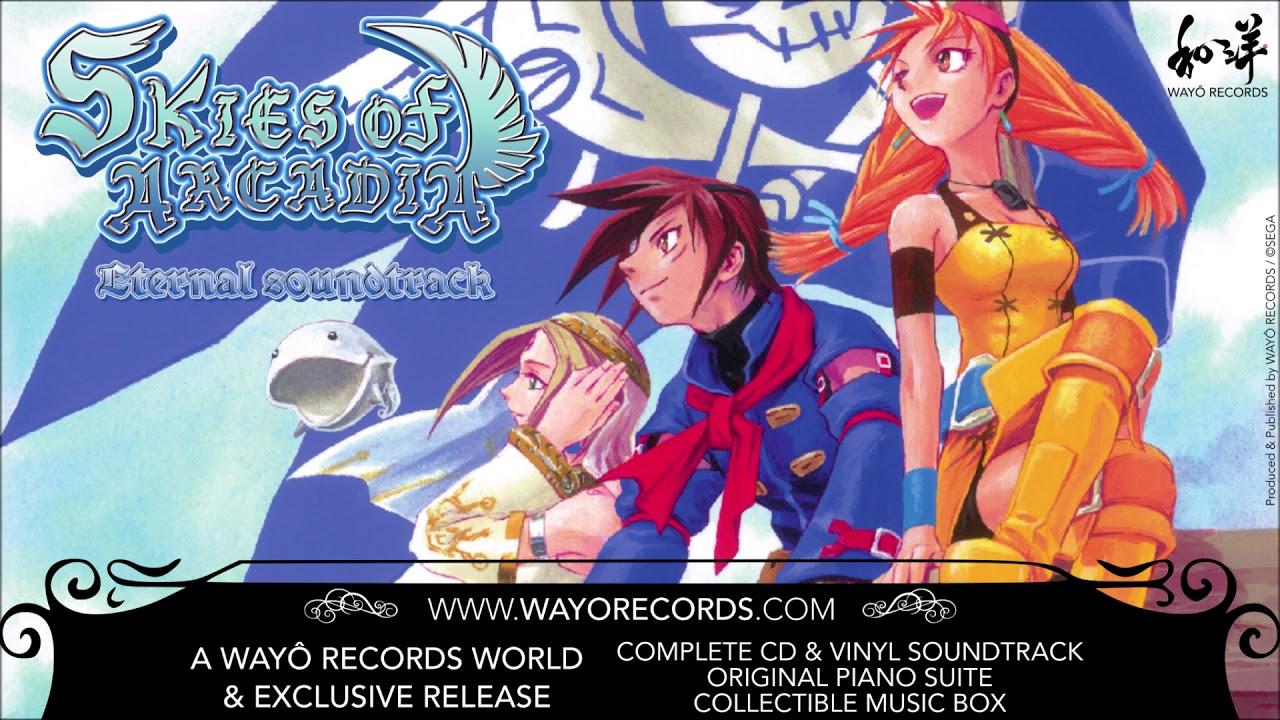Skies Of Arcadia Eternal Soundtrack Vinyl Deluxe Edition