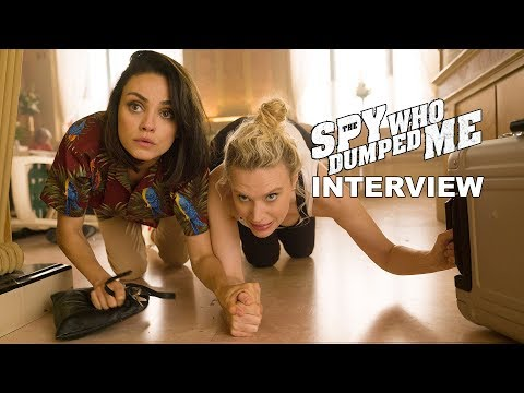'The Spy Who Dumped Me' Interview Mp3