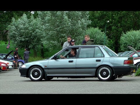 Autoweek Forum & Honda Civic Meeting 23.07.2017 De Meern Netherlands
