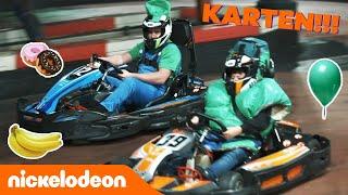 Spannende Kart Race met Cromotag!   De Viral Fabriek   Nickelodeon Nederlands