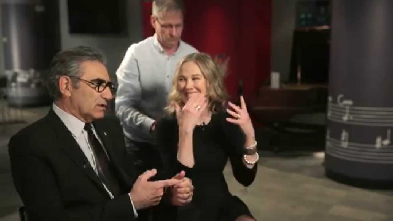 Eugene Levy, Catherine O'Hara recall early years in TV - YouTube