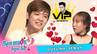 Matchmaking for the handsome guy but completely removed Duy Linh - Yến Vy | BMHH 128 😅
