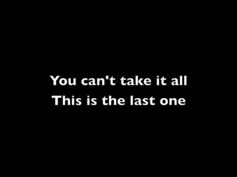Cary Brothers - The Last One (Lyrics)