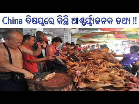 [Odia] Unknown Mysterious Facts about China || Chinese Food, Culture and Economy