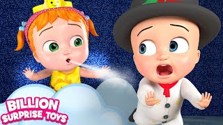 12345 Little Snowmen Number Song For Children BST Kids