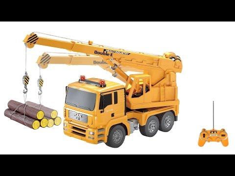 Xe cần cẩu điều khiển từ xa | Car crane remote control [dochoihanquoc.vn]