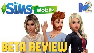 The Sims Mobile - Review Reaction First Look (Gameplay Footage)