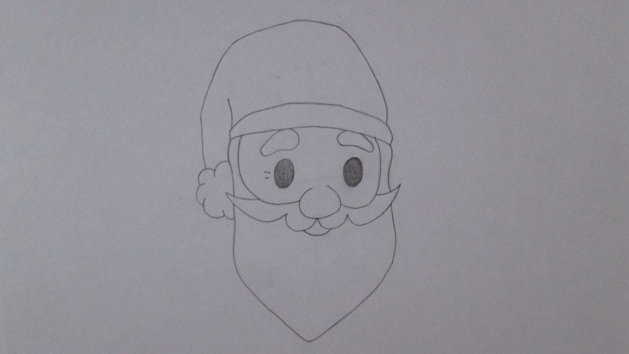 Google Desenhar Rosto: Como Desenhar O Rosto Do Papai Noel