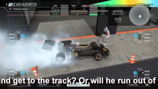 The locked driver - [Funny bug] - Project CARS - PC