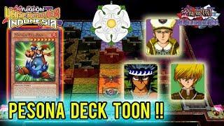 YUGIOH DOR #11 - PAKAI DECK TOON !!