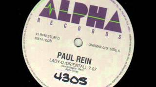 PAUL REIN - LADY-O (EXTENDED VERSION) (℗1986)