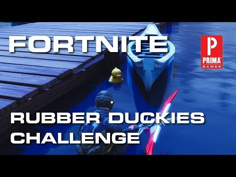 Fortnite Rubber Duckies - All Rubber Ducky Locations