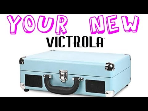 Getting the most out of your new Victrola Suitcase Player!