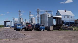 Одно из крупнейших зернохранилищ региона строят на сельхозпредприятии в Тамбовской области