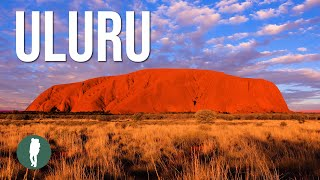 Uluru / Ayers Rock Dawn, Sun and Rain, time lapse