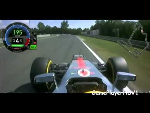 Formula 1 Lewis Hamilton Onboard Lap Hungary 2012 {HD} - Monday TV