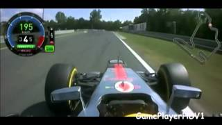 Formula 1 Lewis Hamilton Onboard Lap Hungary 2012 {HD} - Monday TV