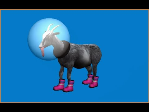 Goat MMO: how to unlock the anti-gravity goat