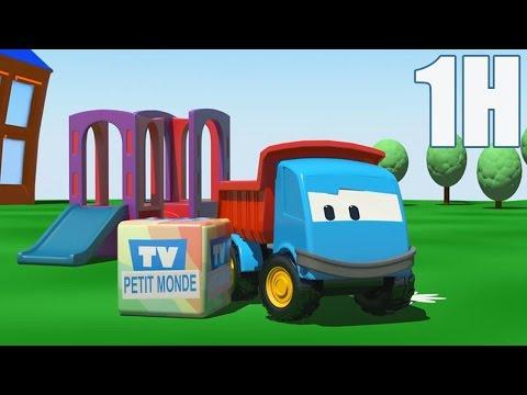 1 heure de Léo le camion benne curieux - Compilation #1 HD | Dessins animés en francais