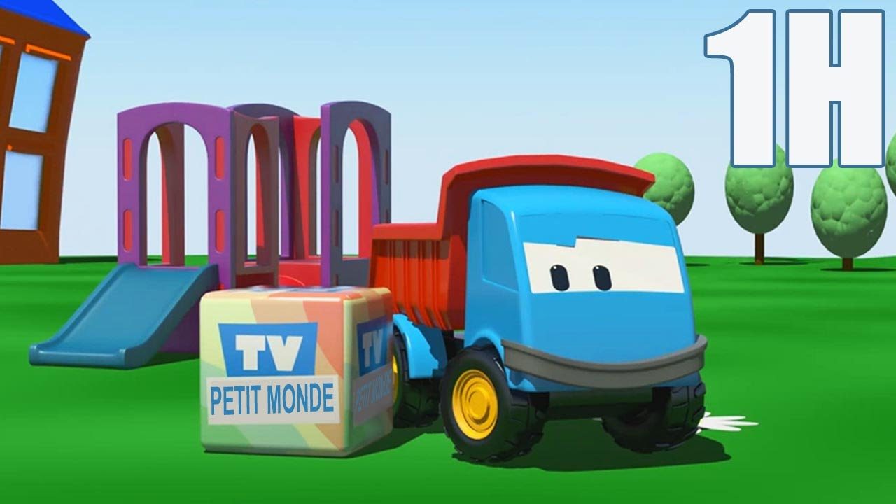 Compilation 1 heure de l o le camion benne curieux youtube - Leo le camion benne ...