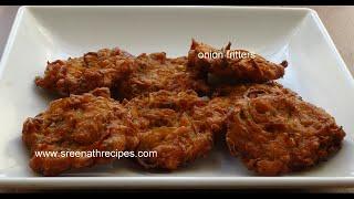 Onion fritters - Onion vada - Ulli vada