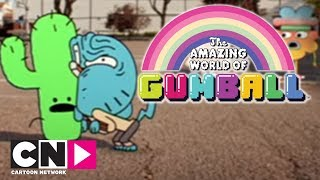 Gumball | Carmen vil kysses af Gumball | Danimarkalı Cartoon Network