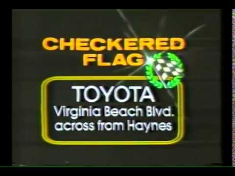 1982 Car Commercial Checkered Flag Toyota Honda  YouTube