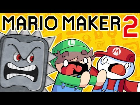 """Two """"Pro"""" Gamers Play Mario Maker 2"""