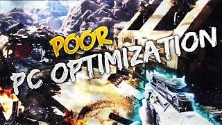 Poor PC Optimization? ☆ Black Ops 3 Brutal Gameplay! @pcdev