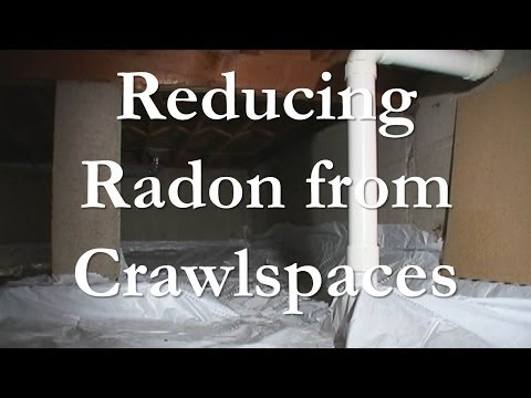 Mitigating Radon From Crawlspaces