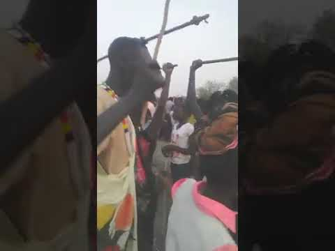 Paweny da Atar Traditional Dance in Central Upper Nile State Malakal Town