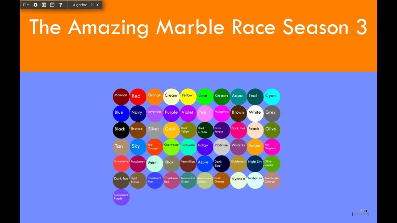 The Amazing Marble Race Season 3 Part 1 Youtube