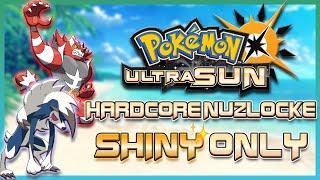 Pokémon Ultra Sun Harḋcore Nuzlocke But I Can Only Use SHINY Pokémon!!