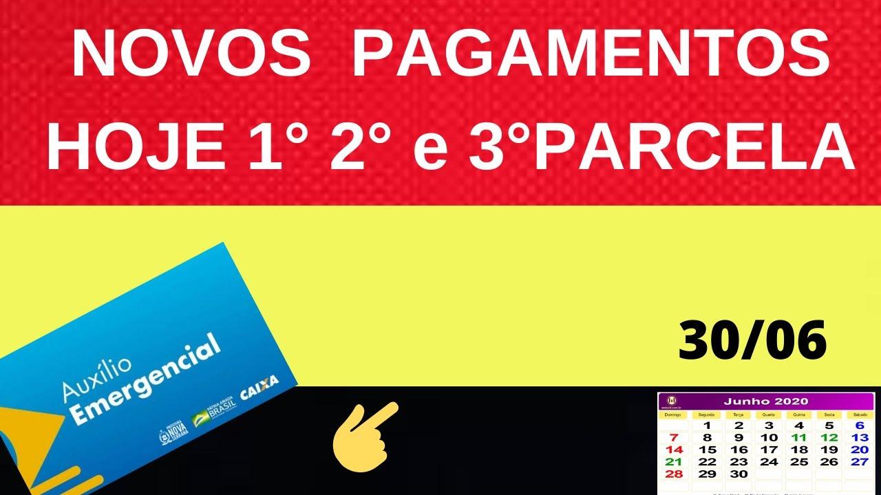 Download NOVOS PAGAMENTOS LIBERADOS HOJE 30/06 AUXILIO EMERGENCIAL! VEJA QUEM RECEBE