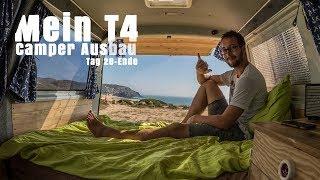 Mein (!) T4 Camper Ausbau: Möbel, Bett und Ende