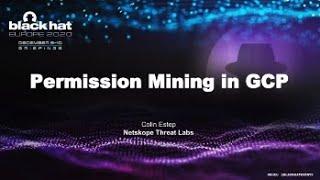 Permission Mining in GCP