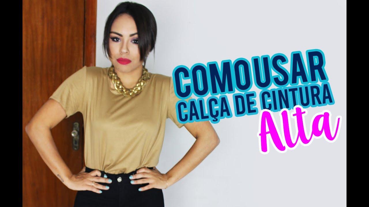 DICAS DE LOOK: CALÇAS DE CINTURA ALTA - Por Nathália Nogueira ...