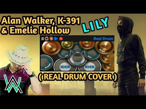 alan-walker,-k-391-&-emelie-hollow-lily-(real-drum-cover)