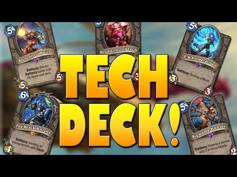 This Deck COUNTERS Everything With ONLY Tech Cards! | Galakrond's Awakening | Hearthstone