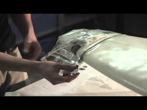 Surfboard Fiberglass Tail Repair Video