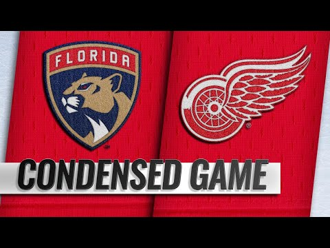 12/31/18 Condensed Game: Panthers @ Red Wings