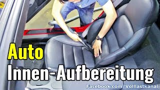 AUTO INNENRAUM AUFBEREITUNG - 10 Minuten Komplett-Programm / Complete Interior Detailing Corvette C6