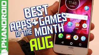 20 Best Android Apps & Games (AUGUST 2017)