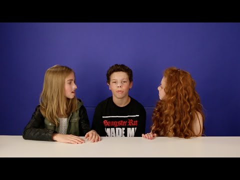 Say Anything Challenge Ft. Hayden Summerall & Francesca Capaldi